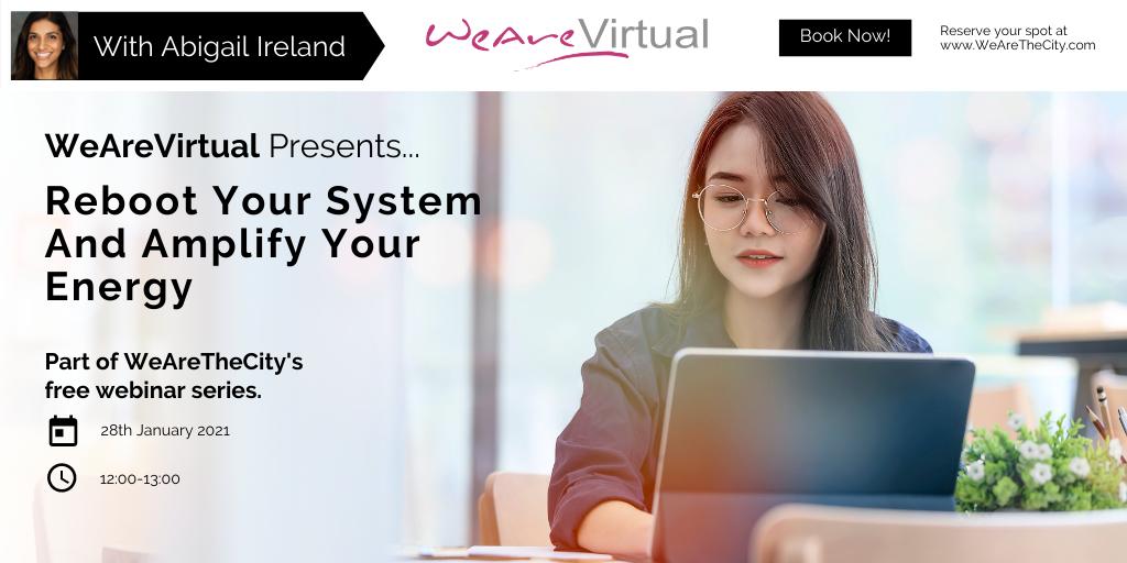 WeAreVirtual, Abigail Ireland webinar