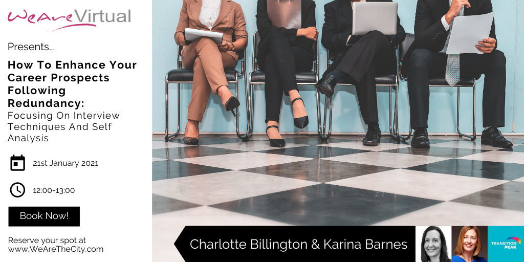 WeAreVirtual, Charlotte Billington & Karina Barnes redundancy webinar