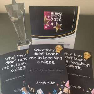 award with book