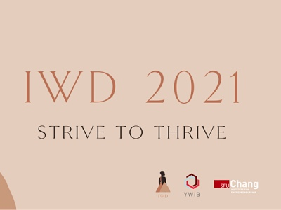 International Women's Day event, IWD 2021, Young Women in Business featured