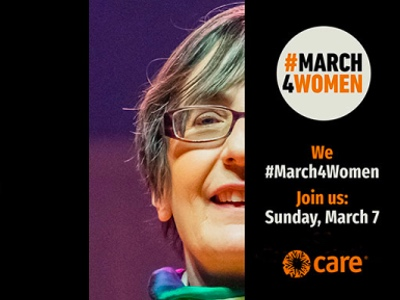 #March4Women, CARE International event featured