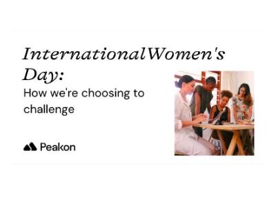 Peakon, International Women's Day event featured
