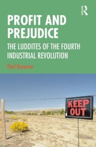 Profit and Prejudice, Paul Donovan book
