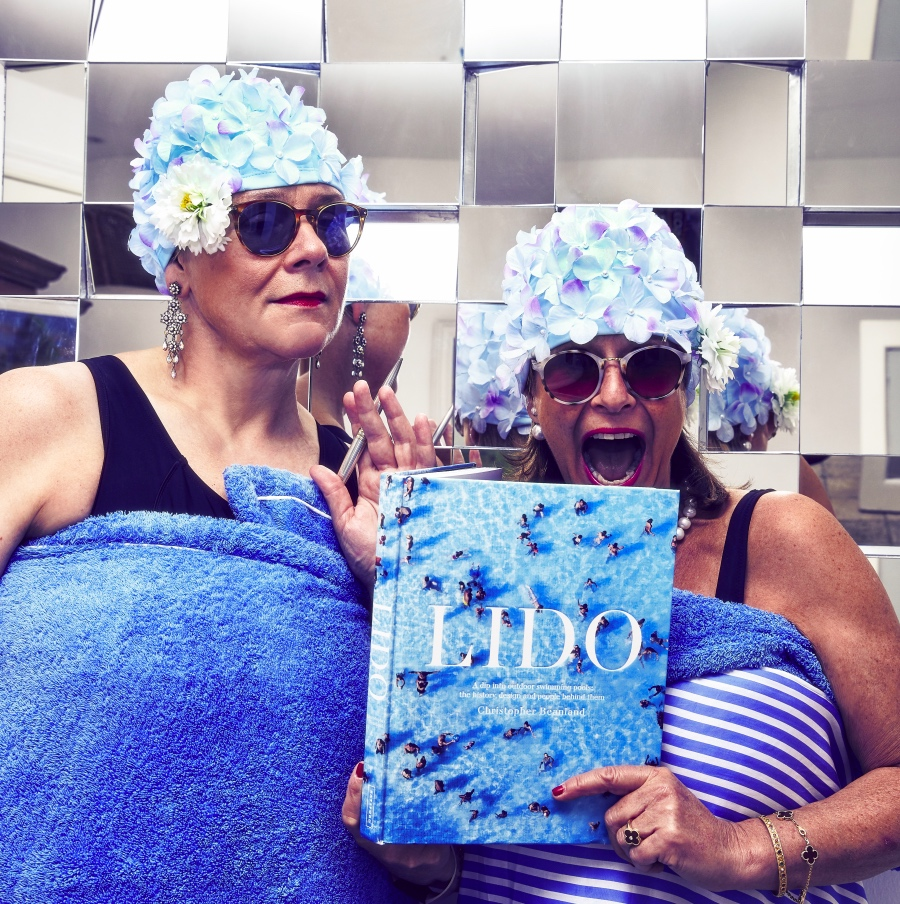 The Lido Ladies, Nicola Foster and Jessica Walker