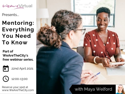 WeAreVirtual, Maya Welford Mentoring featured