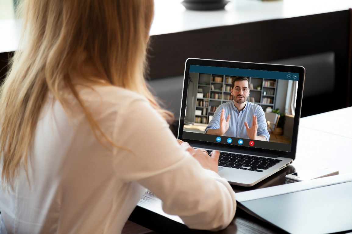 Virtual interview, Remote interview, Zoom call