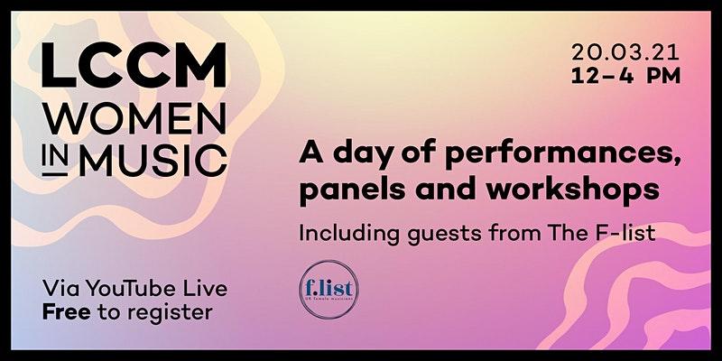 LCCM Women in Music event