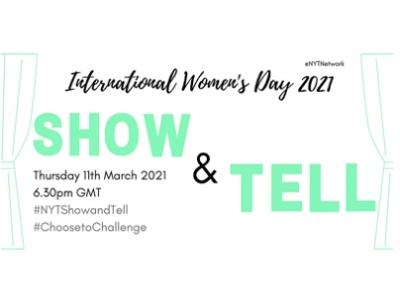 NYT Network, International Women's Day, Show & Tell Evening featured