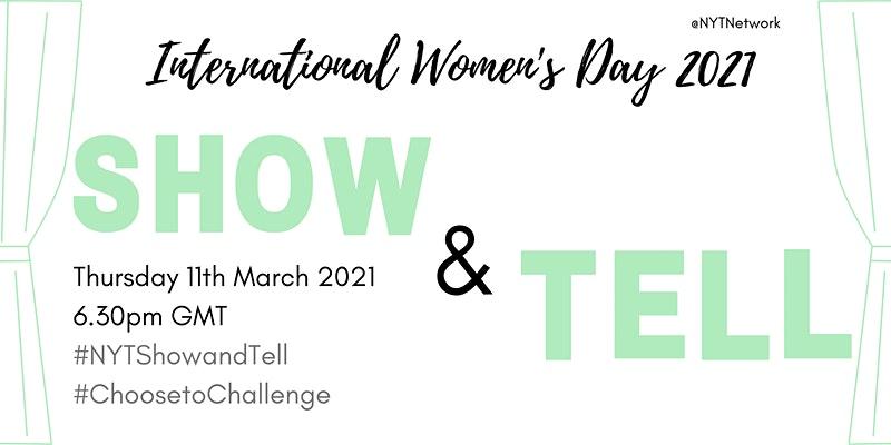 NYT Network, International Women's Day, Show & Tell Evening