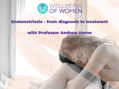 Wellbeing of Women, Endometriosis virtual event featured