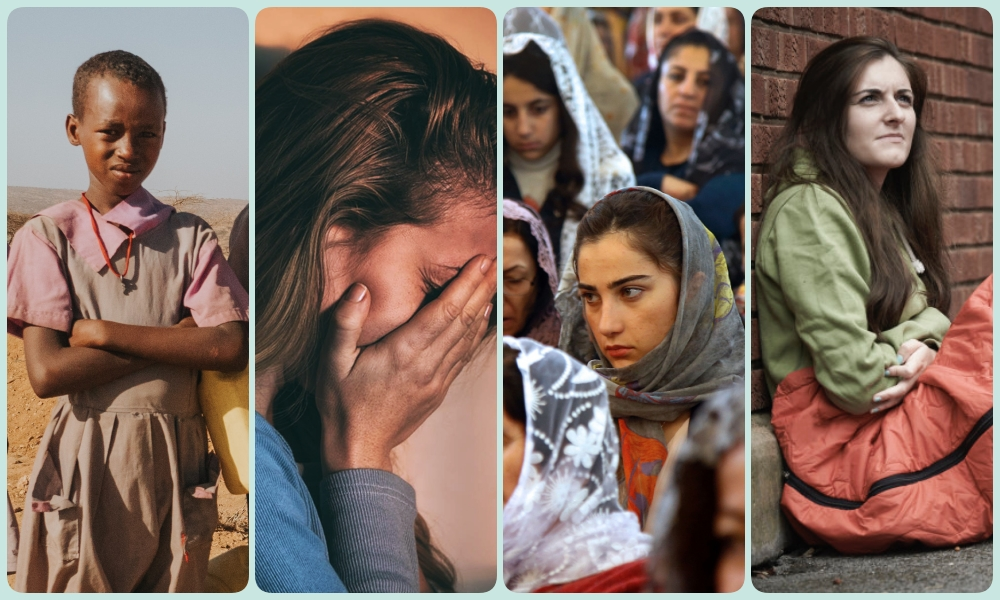 Women in crisis collage - page2