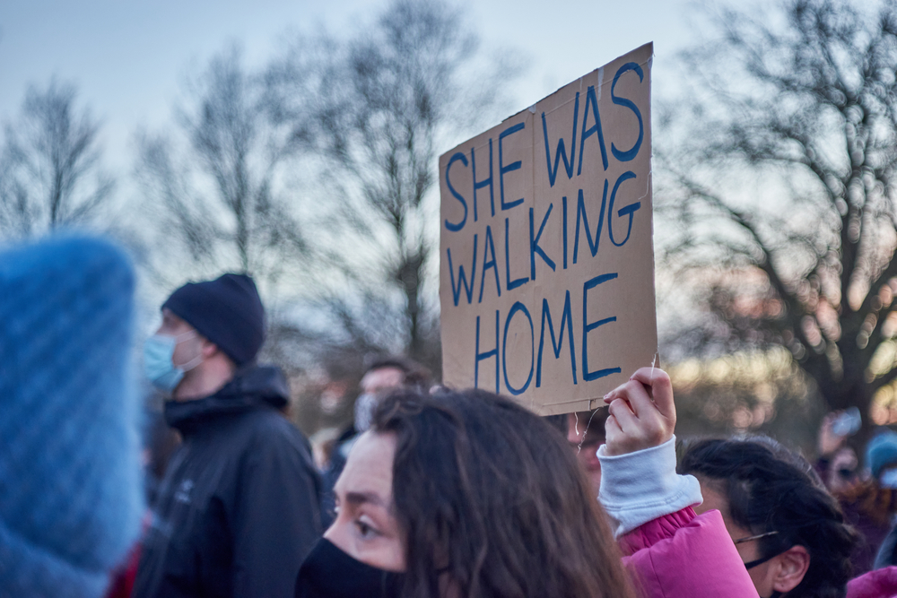 Thousands of people attended the vigil for Sarah Everard in Clapham Common.