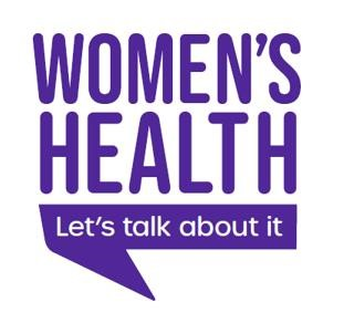 Women's Health Logo, government survey on healthcare