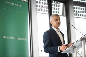 Sadiq Khan, Mayor of London speaking at a Gender Networks meeting