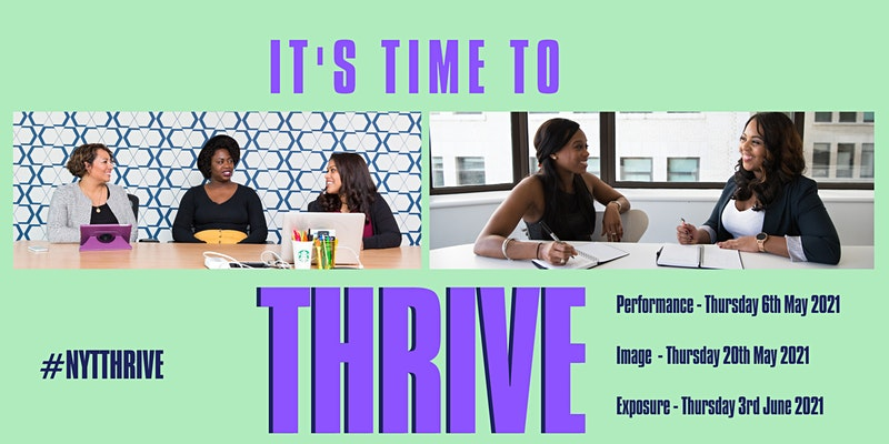 Now You're Talking - Online Thrive Career Workshops 2021