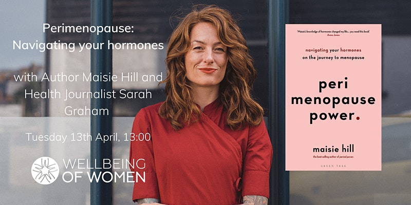 Perimenopause, Wellbeing of Women event