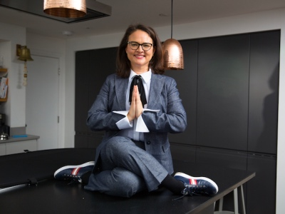 Tracy Forsyth, Yoga in the Boardroom featured