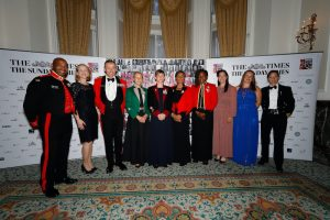 Celebrating our fifth Rising Star Award at the Sheraton Hotel, London in 2019