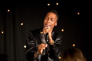 Lemar performing at the 2019 Rising Star Awards