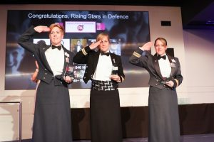 Defence winners at our 2016 Rising Star Awards, hosted by Barclays