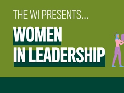 Women in leadership, the women's institute event featured