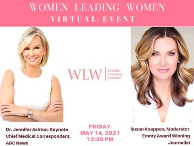 Women leading women event featured