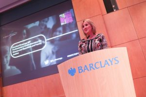 Caroline Dinenage MP speaks at WeAreTechWomen's first conference in 2016