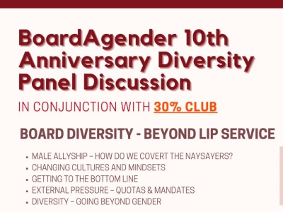 BoardAgender diversity panel event featured