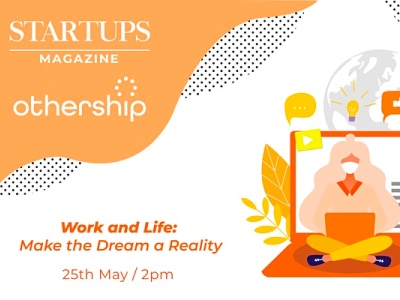 Startup Magazine work and life event featured