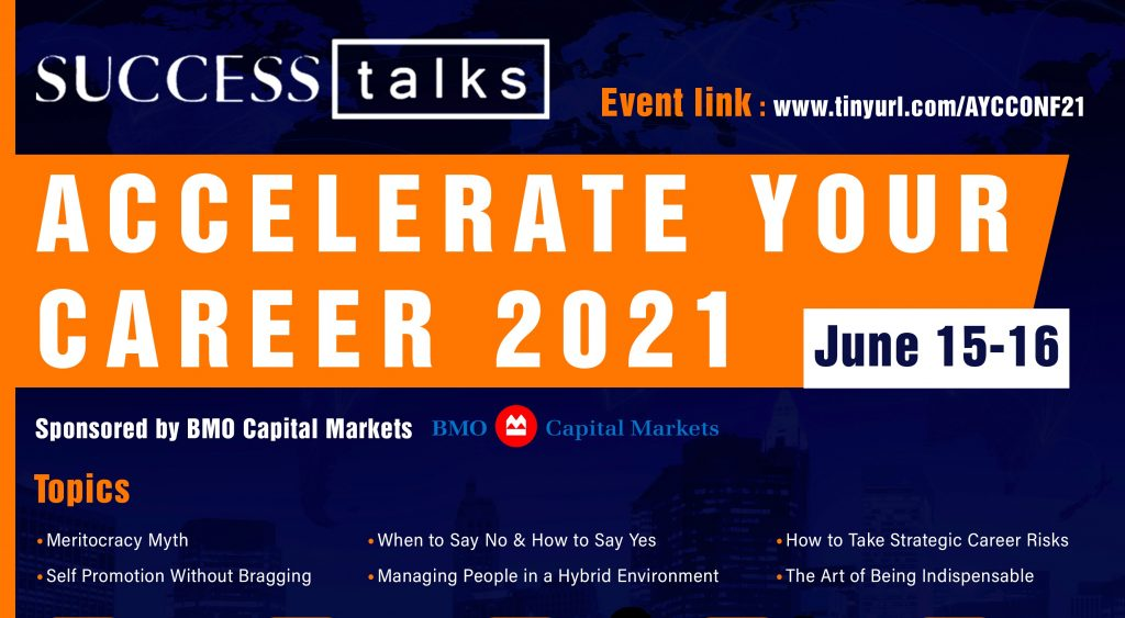 Success Talks- Accelerate Your Career Conference 2021