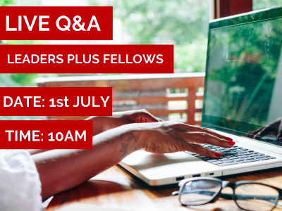 LIVE Q&A - The Leaders Plus Fellowship