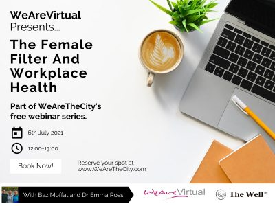 WeAreVirtual, Baz Moffat and Dr Emma Ross featured