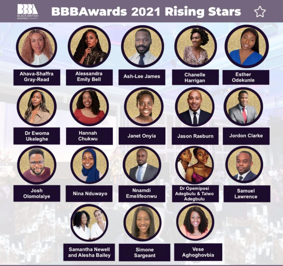 BBBAwards Rising Stars 2021