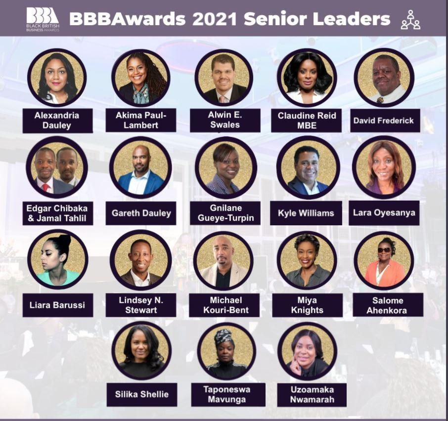BBBAwards Senior Leades 2021