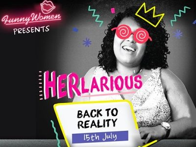 HERlarious Back to Reality, Funny Women event featured