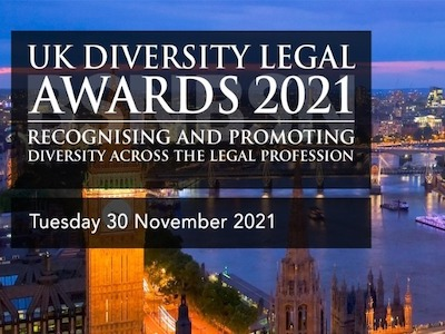 The UK Diversity Legal Awards 2021 featured