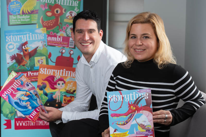 Leslie Coathup and Lulu Skantze, founders and owners of Storytime