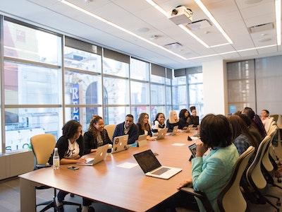 diverse range of people on a board, women on boards