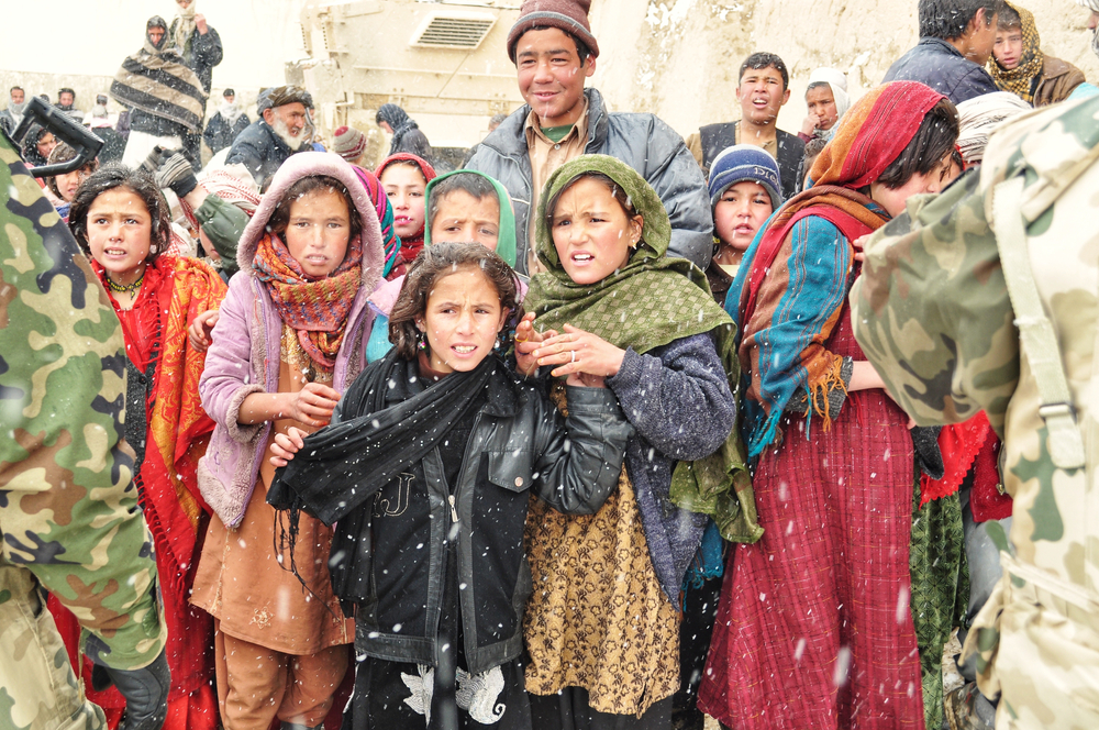 Women and girls in Afghanistan