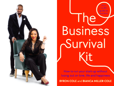 Behind the Cover - Bianca Miller-Cole & Byron Cole, The Business Survival Kit