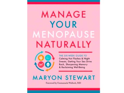 Manage your menopause naturally, Maryon Stewart book cover featured