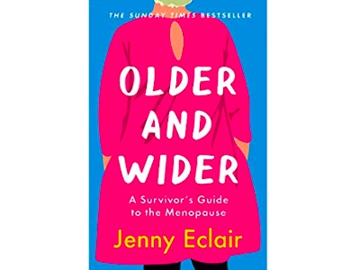 Older and Wiser, Jenny Eclair book cover featured