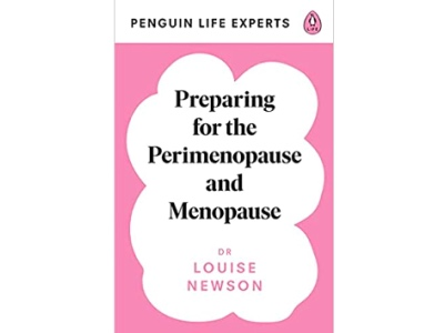 Preparing for the Perimenopause and Menopause, Dr Louise Newson book cover featured