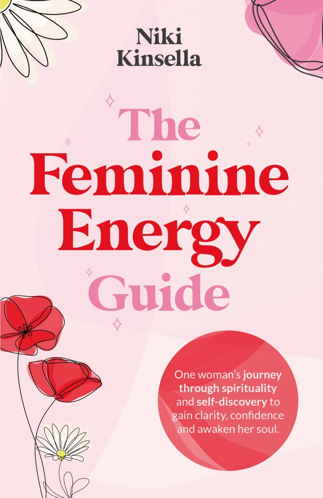 Niki Kinsella, The Feminine Energy Guide book cover