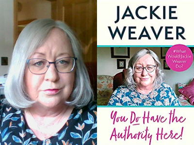 Behind the Cover - Jackie Weaver, You Do Have The Authority Here!