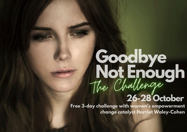 Harriet Waley-Cohen, Goodbye Not Enough challenge