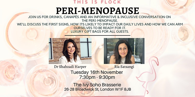 Peri-menopause event by Flock