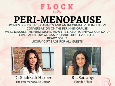 Perimenopause event by Flock featured