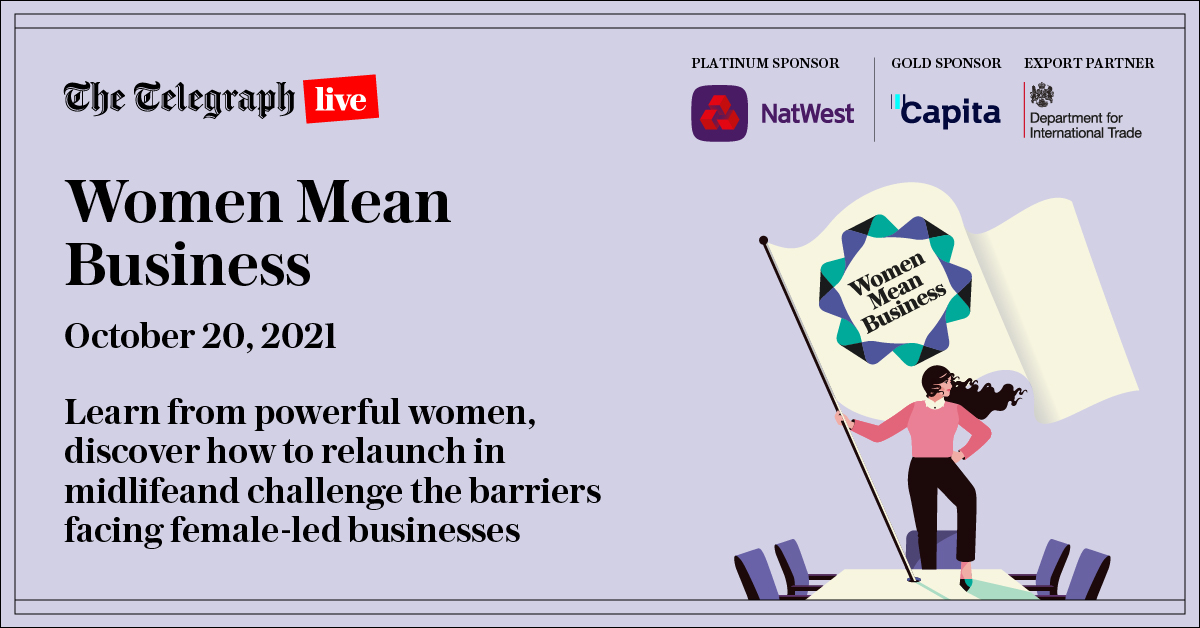 The Telegraph, Women Mean Business