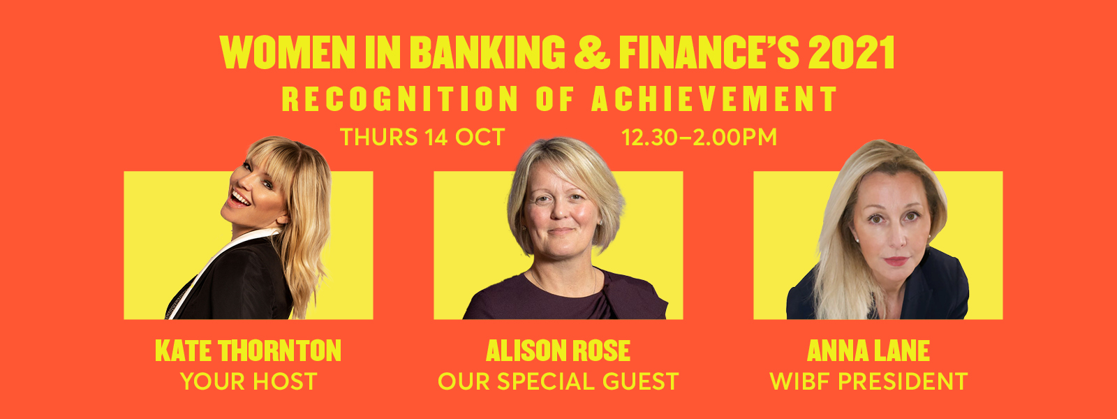 Women in Banking and Finance's 2021 recognition of achievement